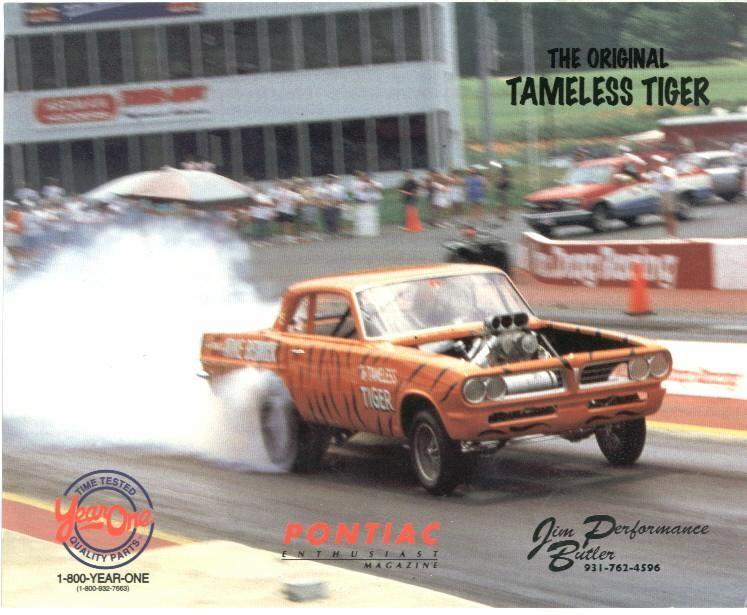 "Arnie Beswick's ""Tameless Tiger"" (1964) "" | Drag racing, Car humor ..."