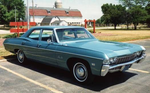 Chevrolet Bel Air 1968 Autos Estados Unidos