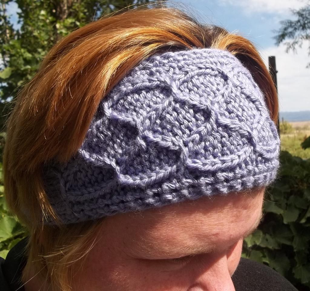Easy Smocked Knit Ear Warmers | Ear warmers, Patterns and Knitting ...