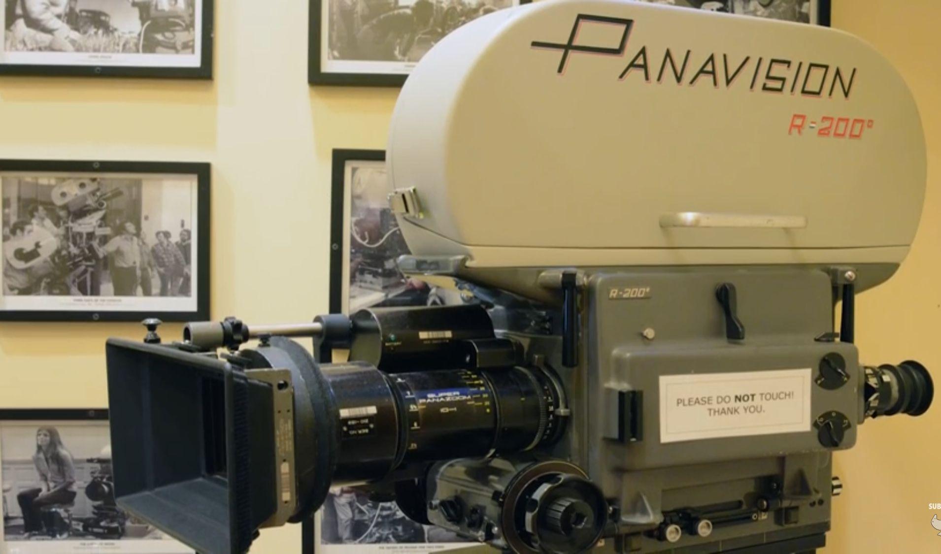 Panavision Camera Star Wars : George lucas panavision camera used to film star wars in
