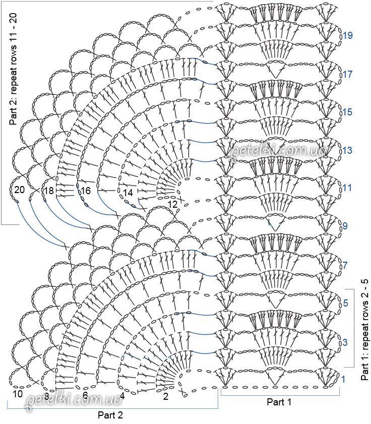 Вязание шапки крючком 2017. Фото, описание и схемы модных 17