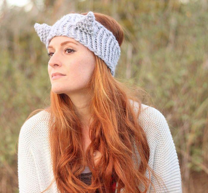 Eugenia Kim Cat Headband Knitting Pattern   Knitting & Needle Crafts ...