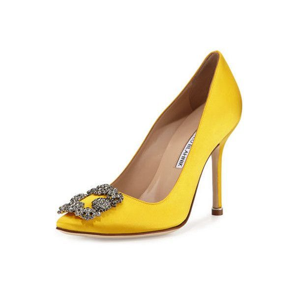 cheap 2014 newest Manolo Blahnik Hangisi 105Mm Sat... buy cheap recommend outlet wholesale price Ford3FE