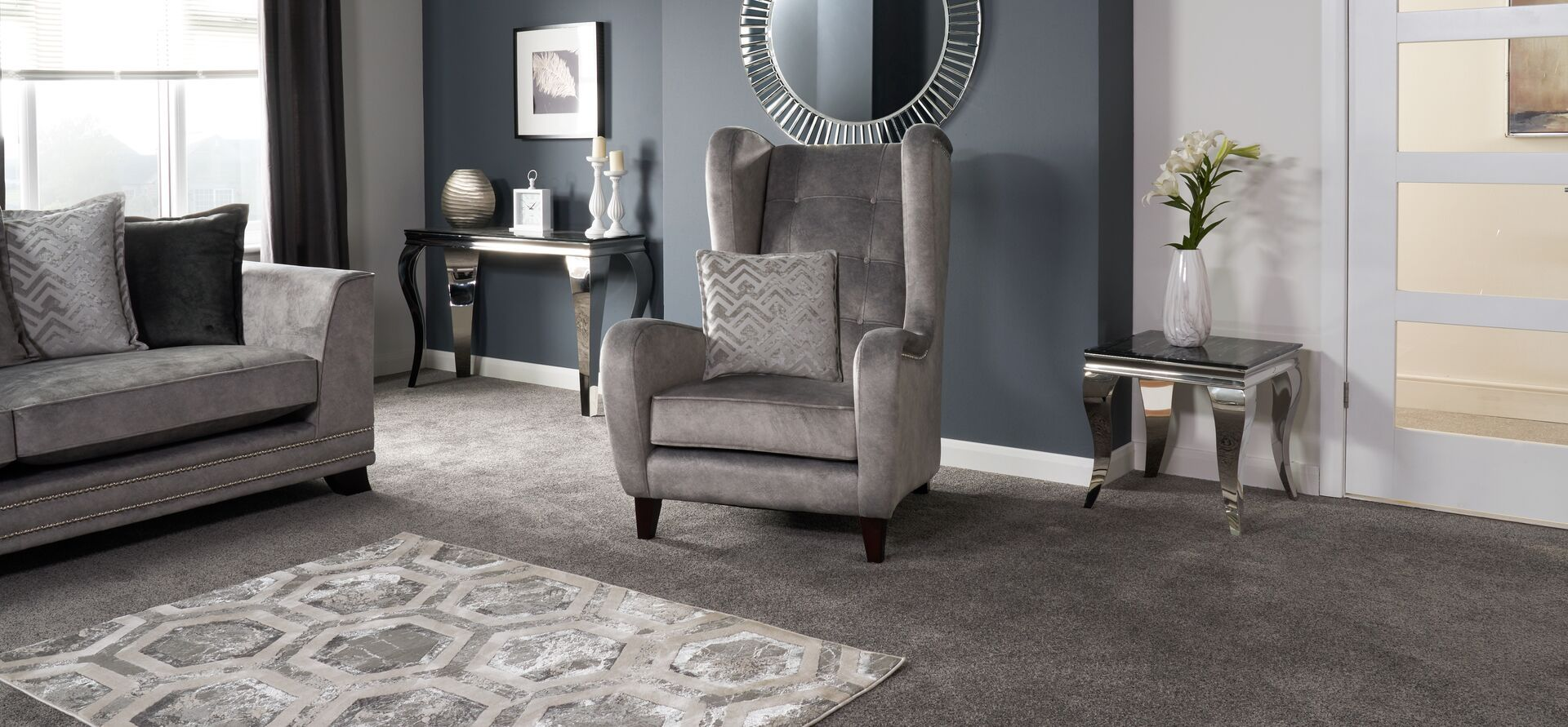 Andreas Wing Chair In 2020 Wing Chair Flooring Shops