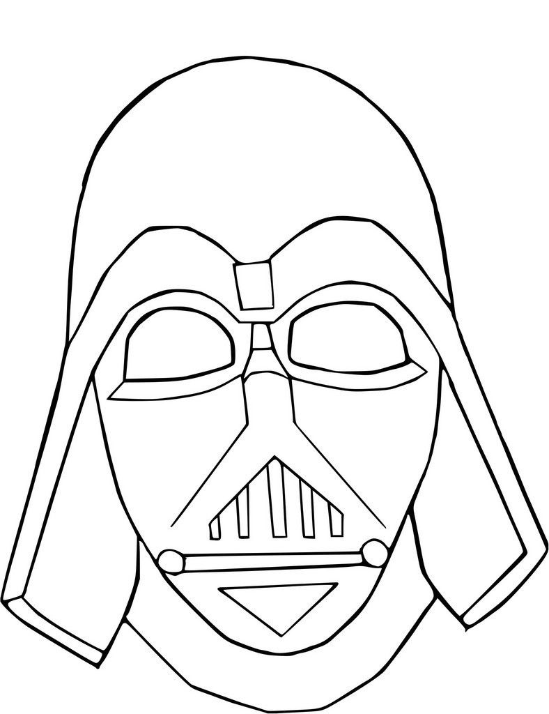Coloriage Masque Captain America.Coloriage Masque Dark Vador At Supercoloriage May The 4th Be With
