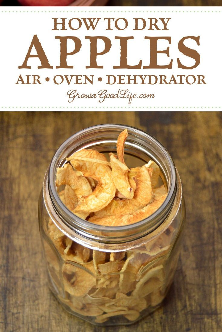 Dehydrate Apples with a Food Dehydrator Recipe