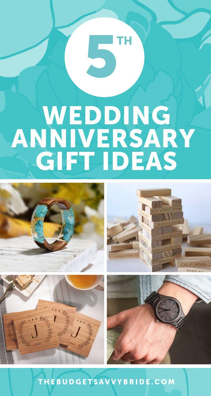 Fifth Wedding Anniversary Gift Ideas Wedding anniversary