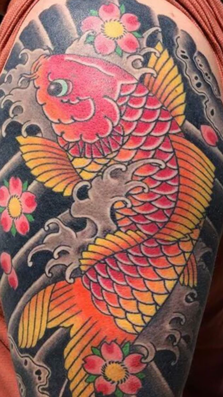 Pin by Roger Ever Martinez on fish Koi tattoo | Pinterest | Koi fish ...
