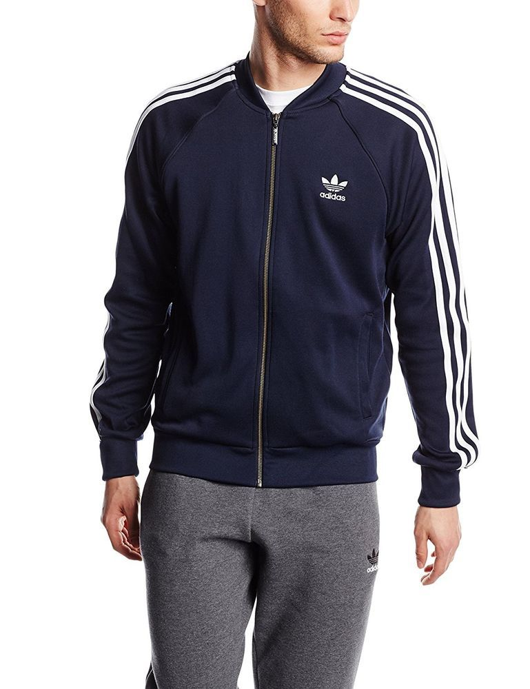 f66155175c1cea Mens adidas Orignals Superstar Track Jacket Navy XL box56 10 G  fashion   clothing  shoes  accessories  mensclothing  activewear (ebay link)