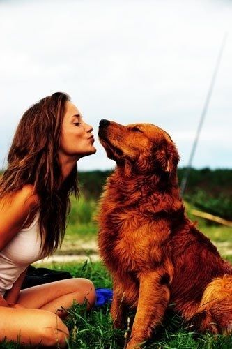dog and girl | Girls & Dogs | Cute dog pictures, Girl, dog, Photos