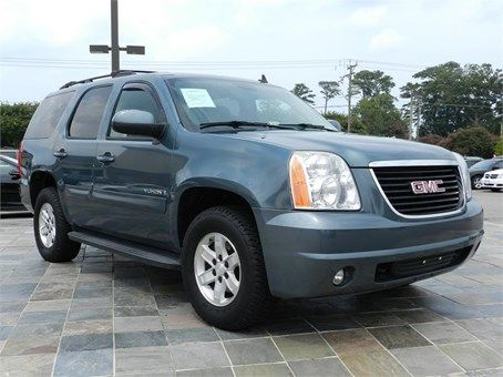 2009 Gmc Yukon Sle 86643 Miles Blue Exterior Color With A Gray