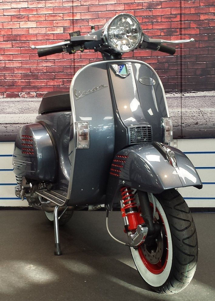 vespa px 125 streetrod edition no5 construction vespa. Black Bedroom Furniture Sets. Home Design Ideas