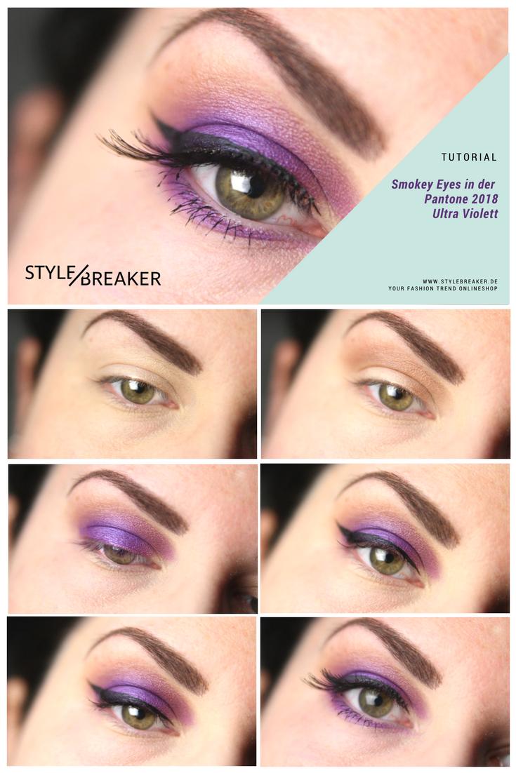 Make-up Tutorial: Smokey Eyes nachschminken