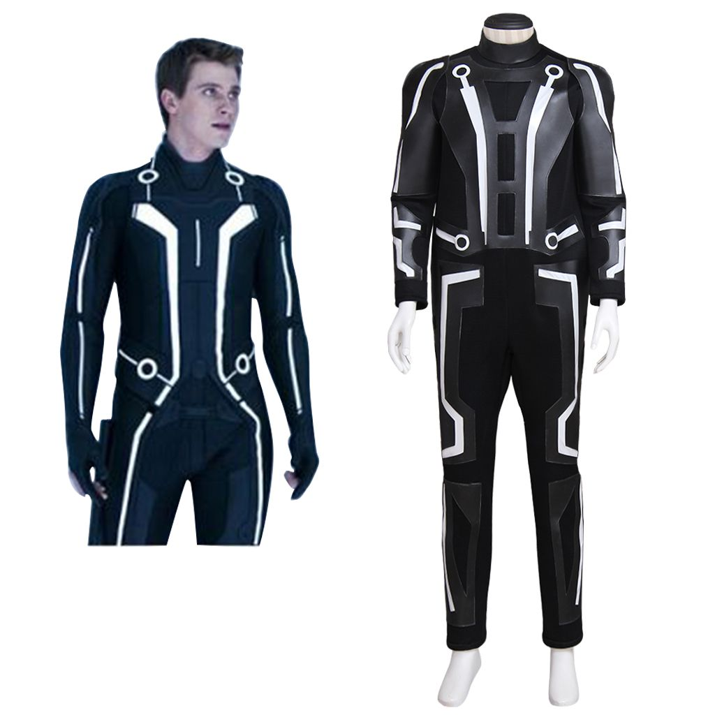 Tron Legacy Quorra Adult Women/'s Jumpsuit Cosplay Costume  custom made