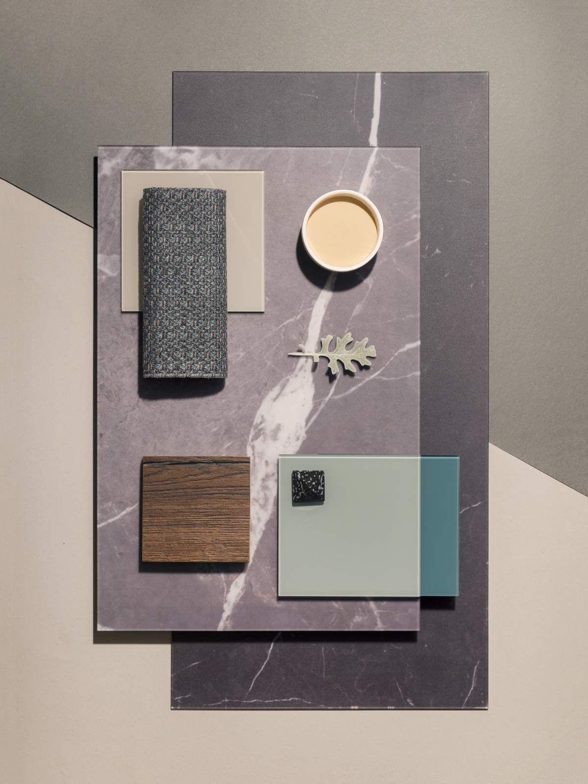 Stand 2018 lago mood board nel 2019 arredamento for Combinazioni colori arredamento