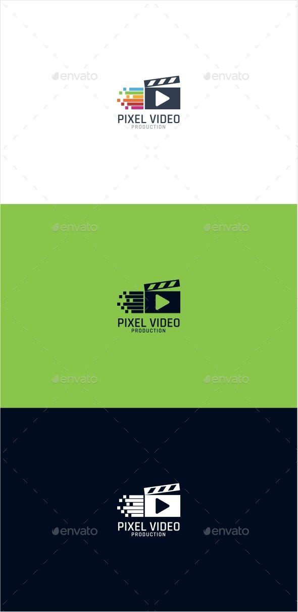 Pixel Video Logo   Logotipos
