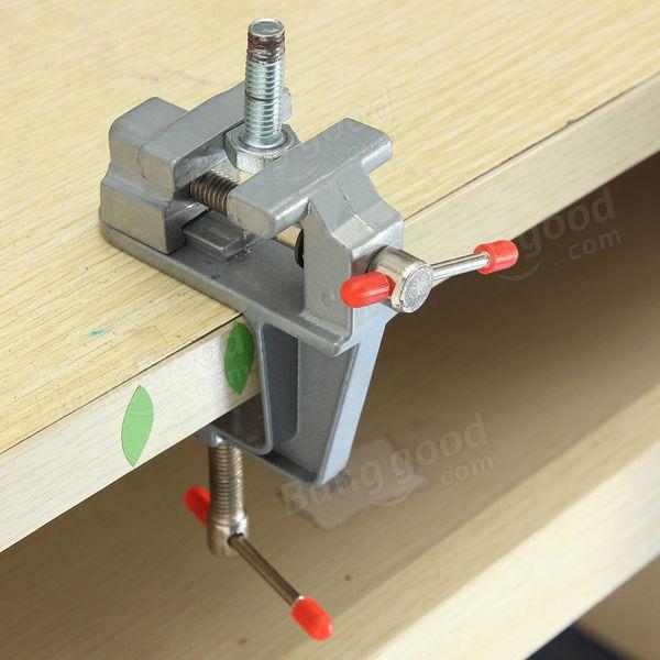 Stupendous Aluminum Miniature Small Clamp On Table Bench Vise Tool Uwap Interior Chair Design Uwaporg
