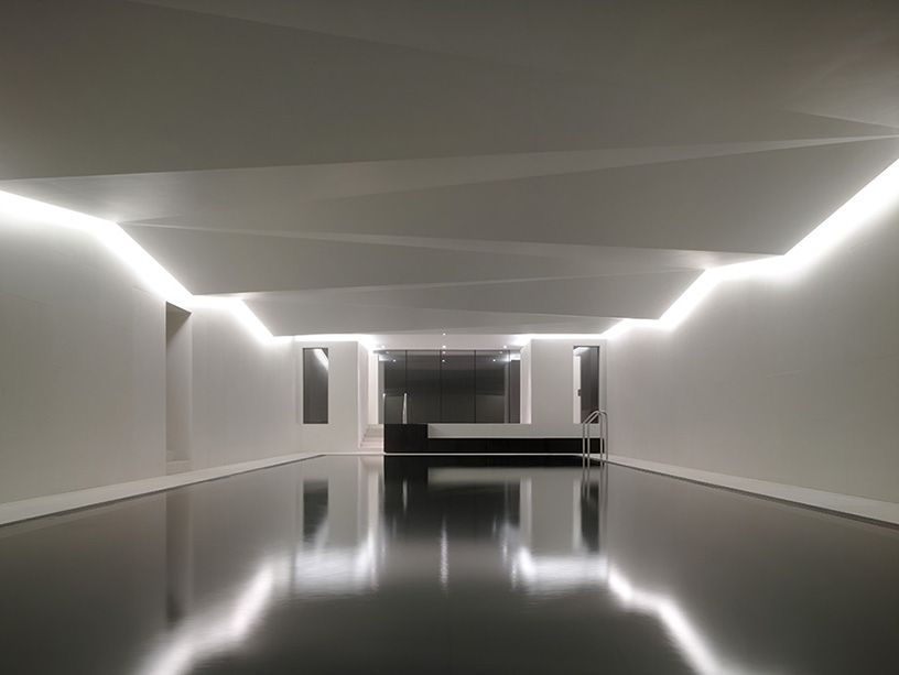 Private residential underground Spa in Limerick Ireland by Carmody
