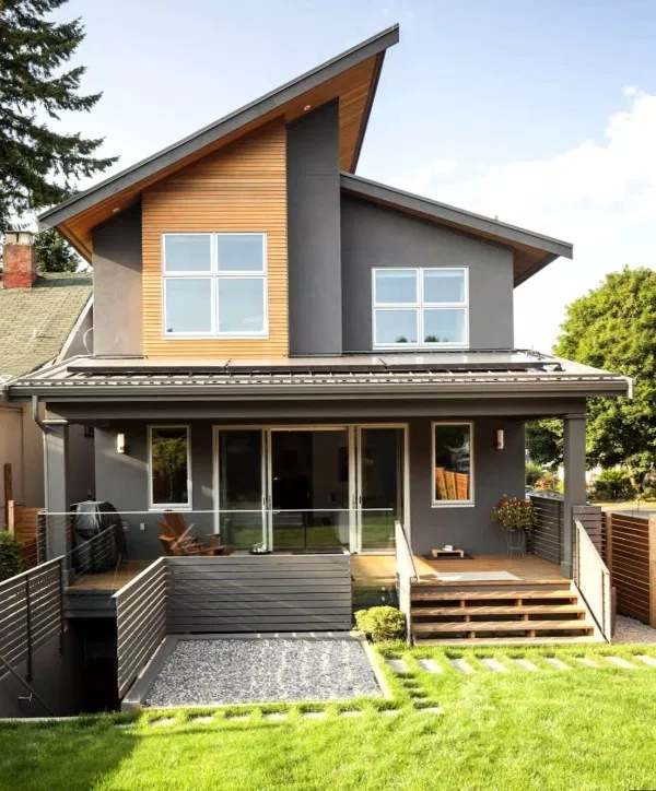 Bag Ev Dizaynlari Google Da Axtar Contemporary House Exterior House Exterior Exterior Design