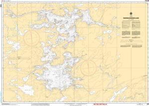 CHS Nautical Chart 6026: Wahwashkesh Lake