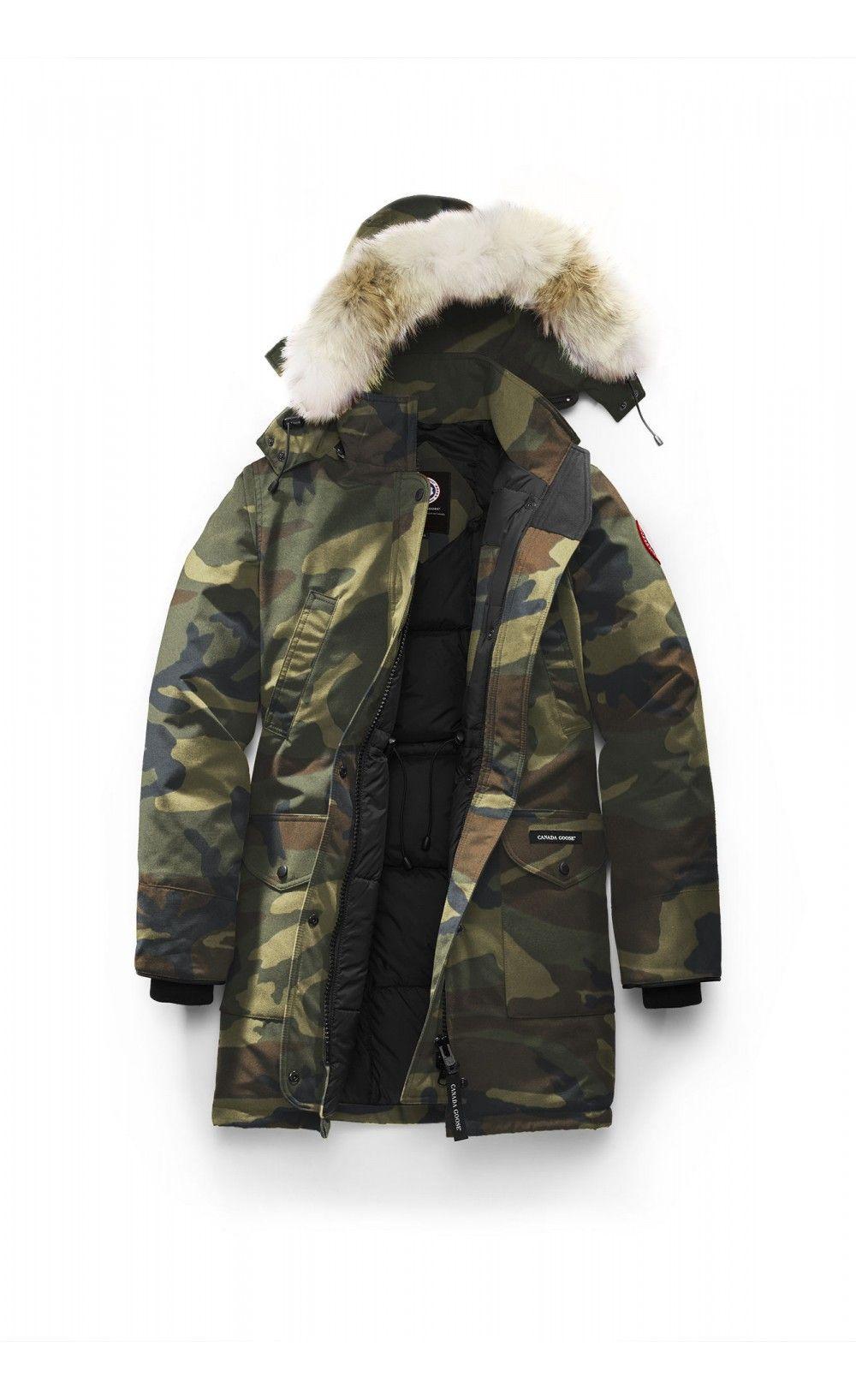 Canada Goose Trillium Parka Classic Camo Women - Canada Goose #blackfriday #fashion #parka #jacket #canadagoose #thankgivingday
