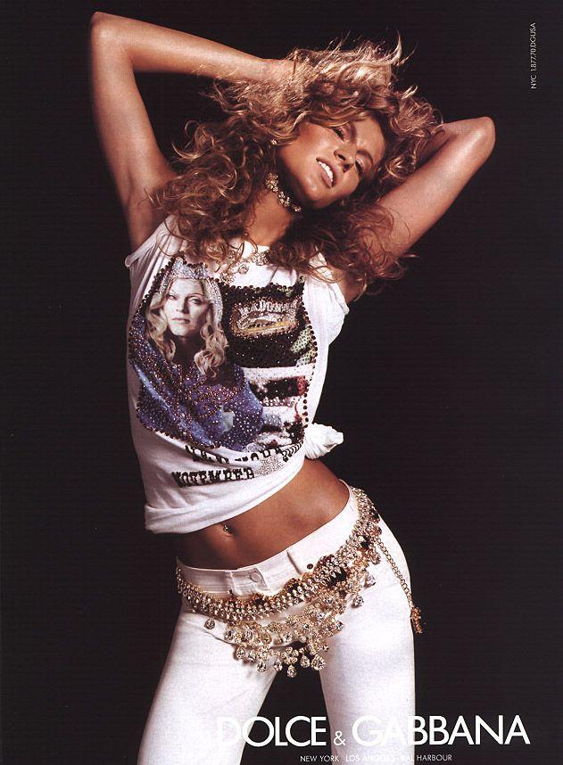 Dolce & Gabbana Spring/Summer 2001 Campaign | Gisele Bündchen photographed by Steven Meisel