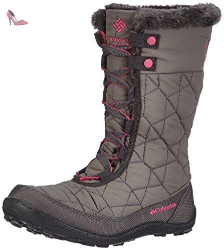 Columbia Minx Mid II Omni-Heat, Chaussures Multisport Outdoor mixte enfant,  Noir (