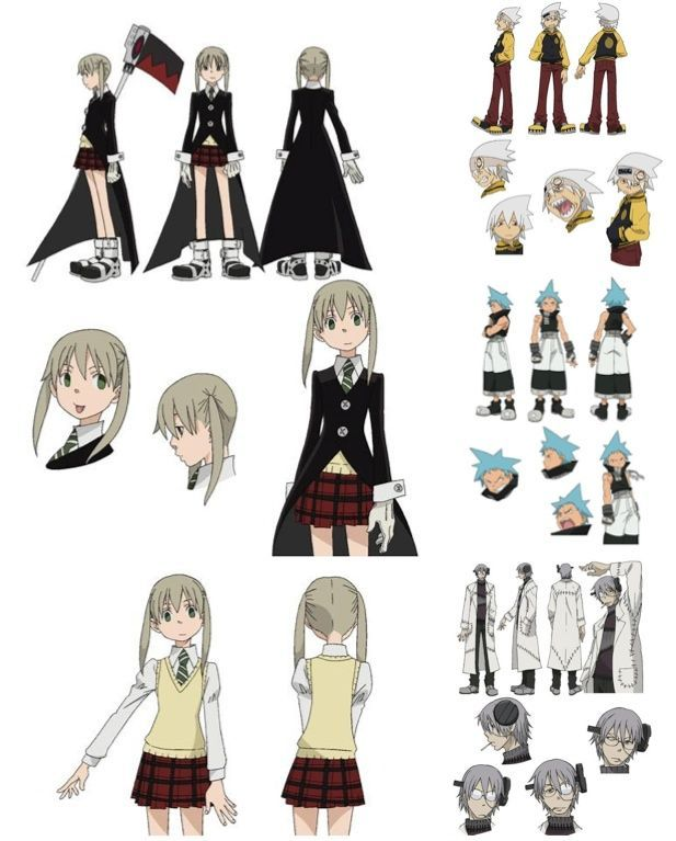 Anime Character Design Challenge : Soul eater character design day favorite