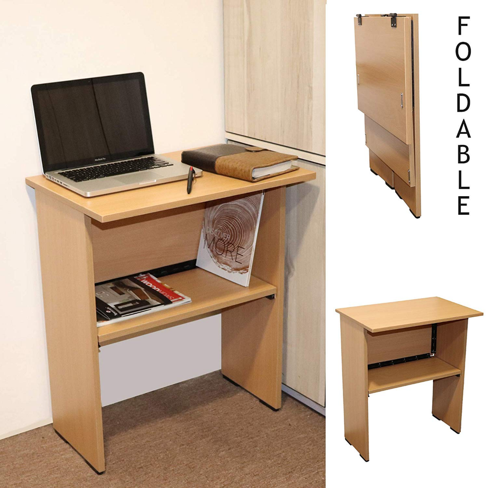 Spacecrafts Wooden Folding Computer Table Mate For Laptop Study