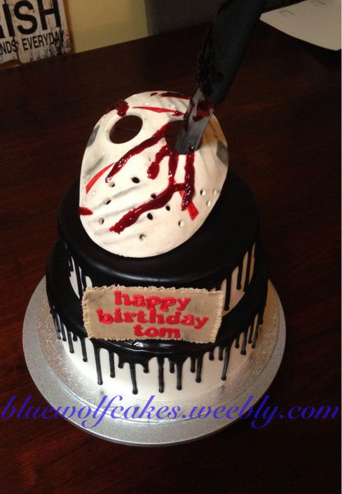 Blue Wolf Cakes Salisbury North Cake Shop Horror Themed Birthday