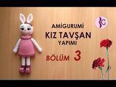 Amigurumi GIRL RABBIT gemacht TEIL 3 Amigurumi Kaninchen Tutori - Amigurumi GIRL TAV A ..., #Amigurumi #gemacht #GIRL #Kaninchen #Rabbit #Tav #Teil #Tutori