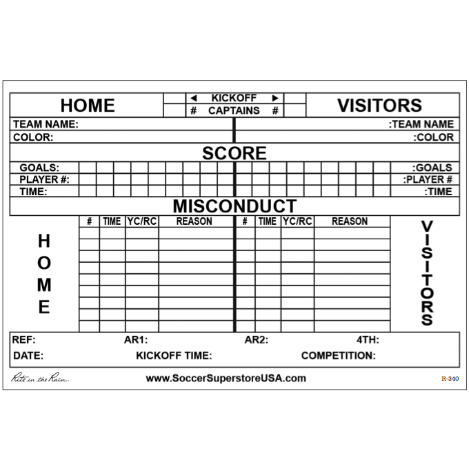 Soccer Report Card Template 3 Professional Templates