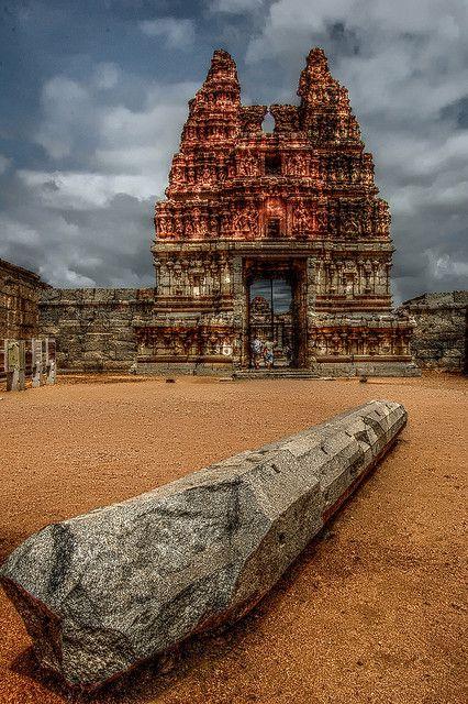 Ensemble monumental de Hampi - Karnataka, district de Bellary (Inde)
