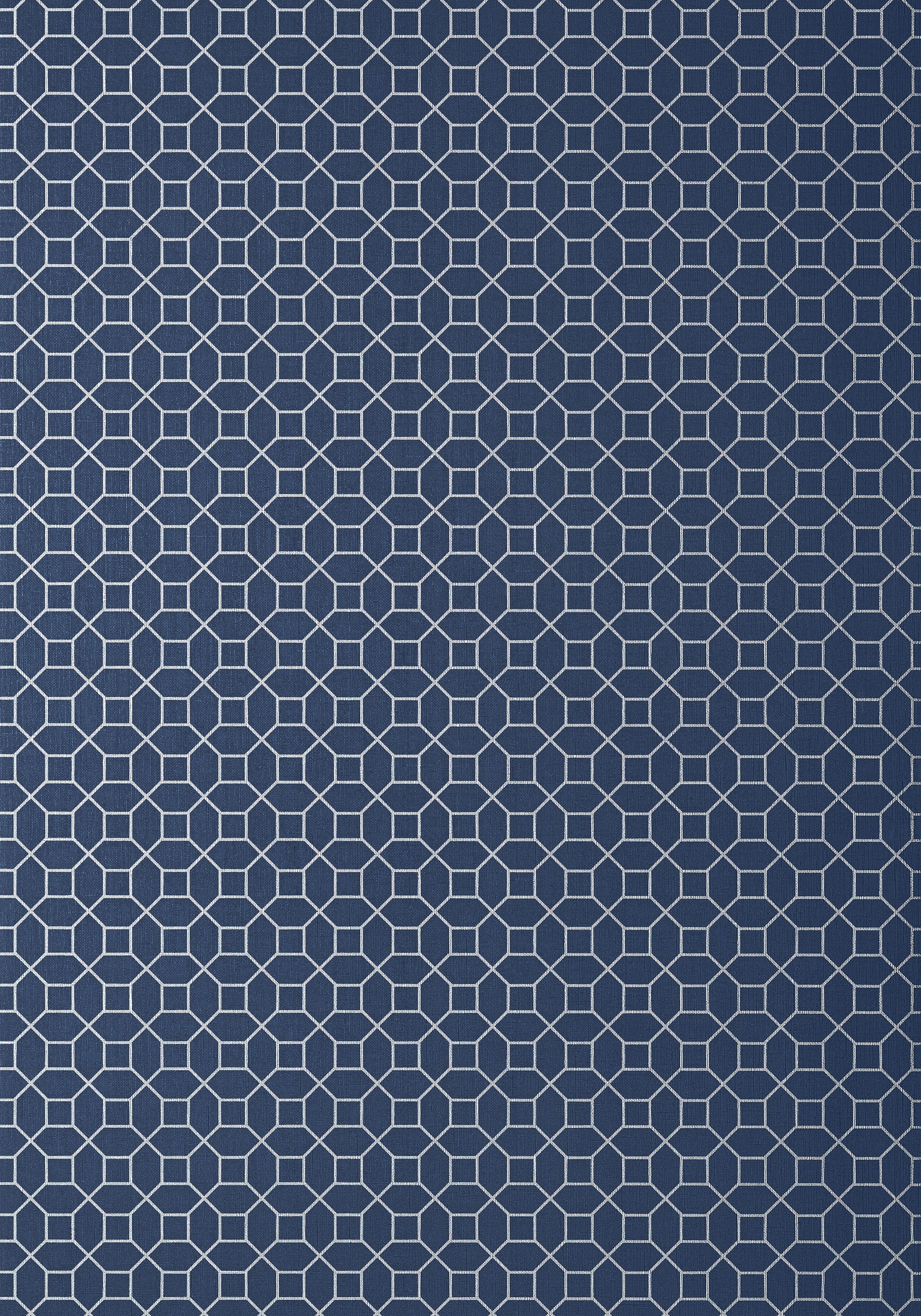 FARRIS, Silver on Navy, T11027, Collection Geometric