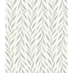 Magnolia Home By Joanna Gaines Willow Grey Paper Strippable Roll Covers 56 Sq Ft Mk1137 The Home Depot Magnolia Homes Peel And Stick Wallpaper Home Wallpaper