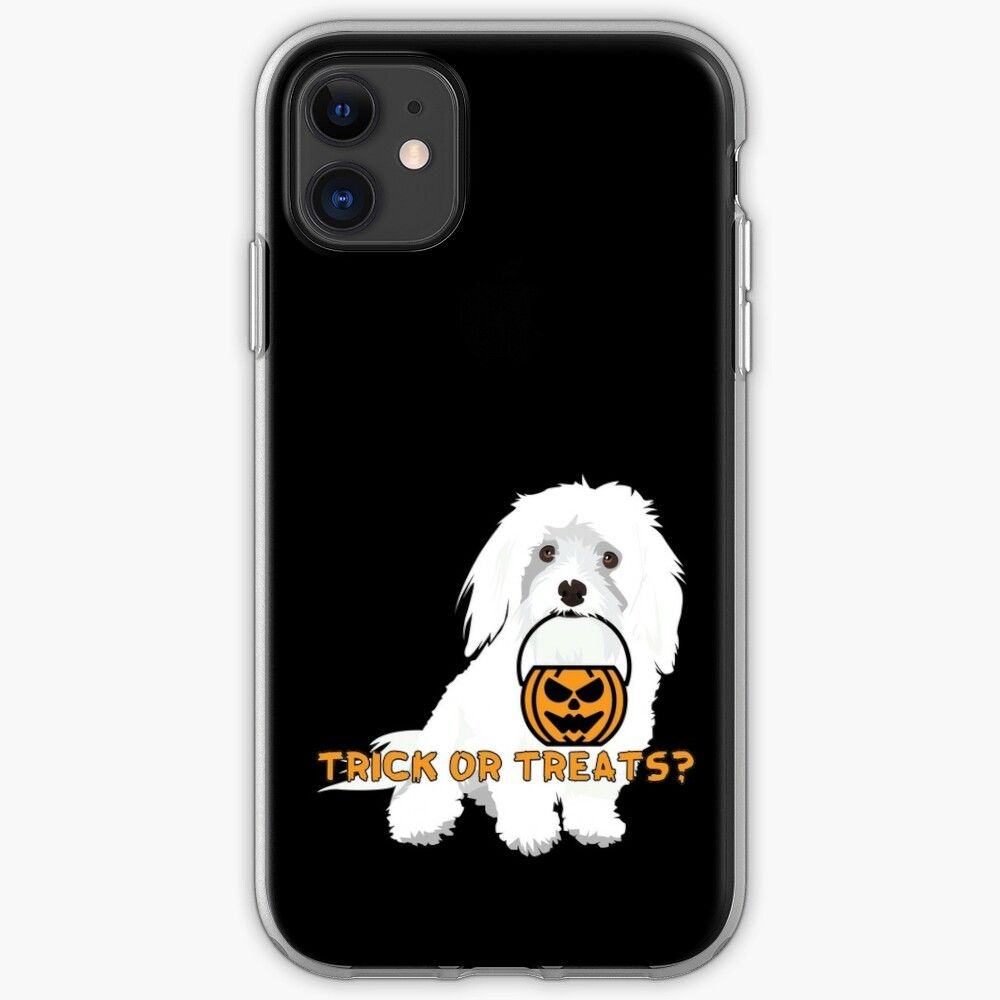 Trick Or Treat Dog Edition Iphonecase Dog Jokes Trick Or Treat Iphone Cases