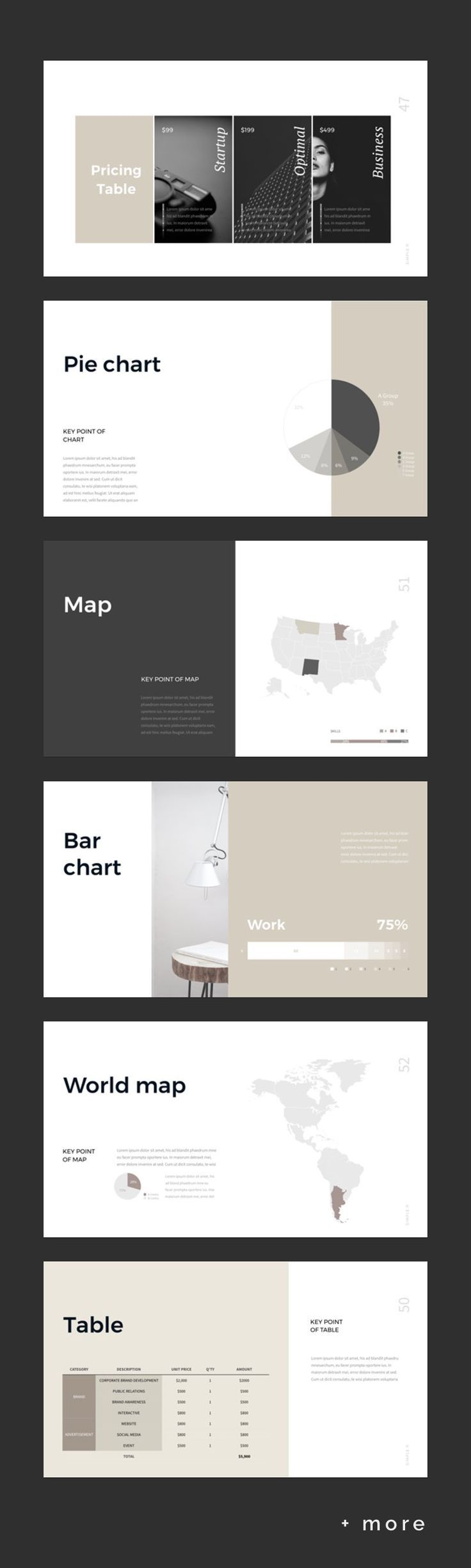 Simple Presentation Template #keynote #presentation #simple #minimal ...