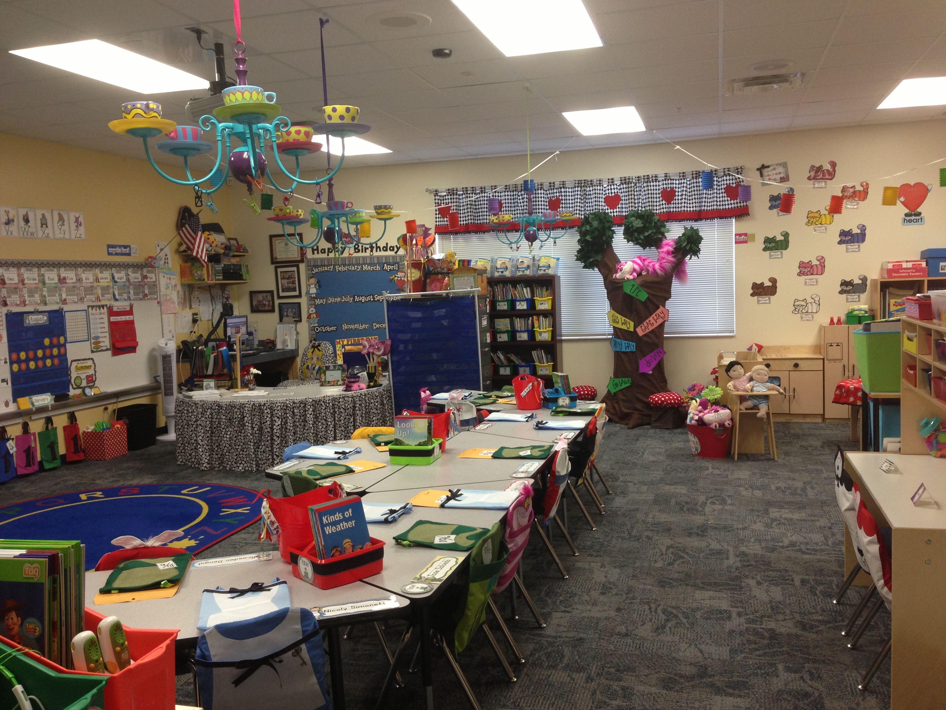 Alice In Wonderland Classroom
