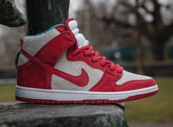 Nike SB Dunk High  Bleached Denim  Custom  KicksOnFire  KICKS  Pinterest   Bleached denim  Nike sb dunks and Nike dunks