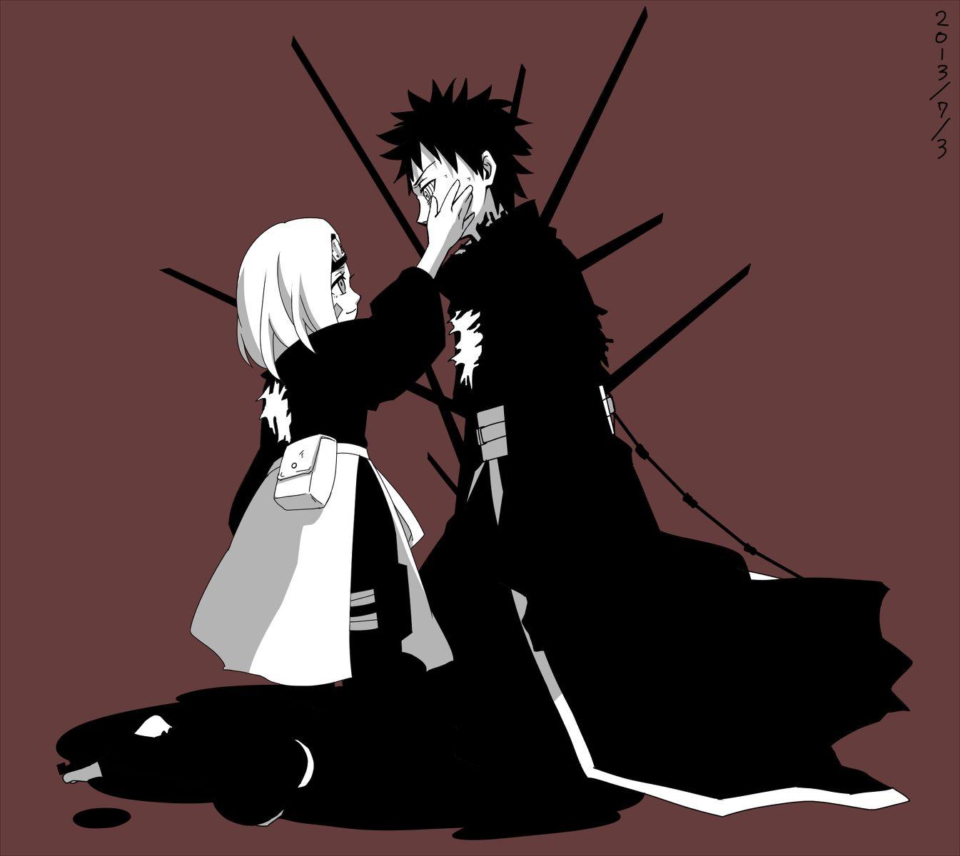 Obito and Rin | NaRuTo | Pinterest | Naruto, Naruto ...