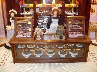 Itty Bitty Adventures: Miniature Monday - Victorian Chocolate Shop!