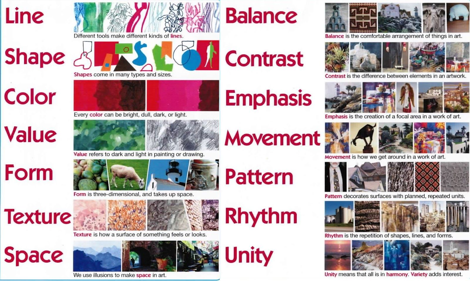 Elements And Principles Of Design With Images