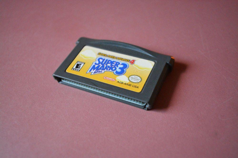Super Mario Advance 4 Super Mario Bros 3 Nintendo Game Boy