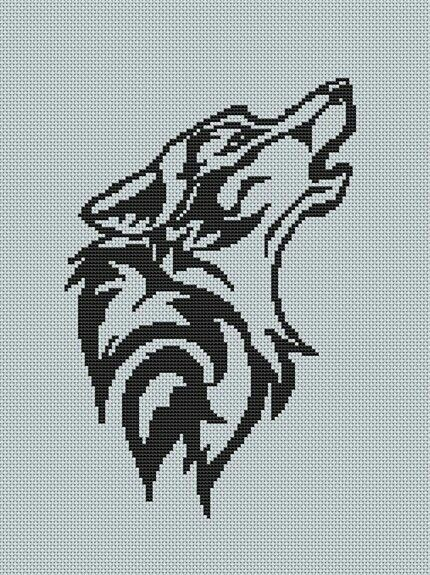 pin by sani on cross stitch wolf patterns plus native