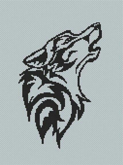 Pin by Sani on Cross Stitch Wolf Patterns Plus Native