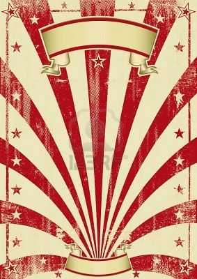 An Old Poster Retro Style Vintage Circus Posters Circus Background Circus Poster