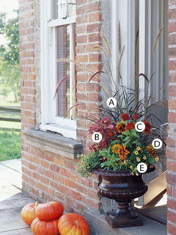 33 Stunning Fall Container Garden Ideas Garden Fall
