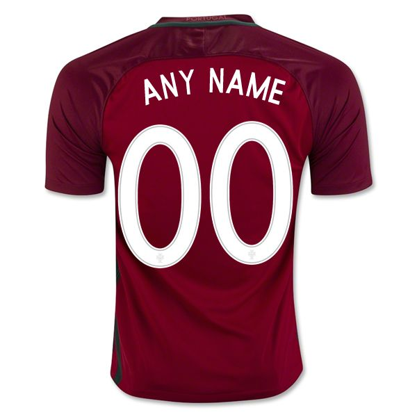 5c7062477 2018 FIFA World Cup Portugal Any Name Number Youth Home Soccer Jersey