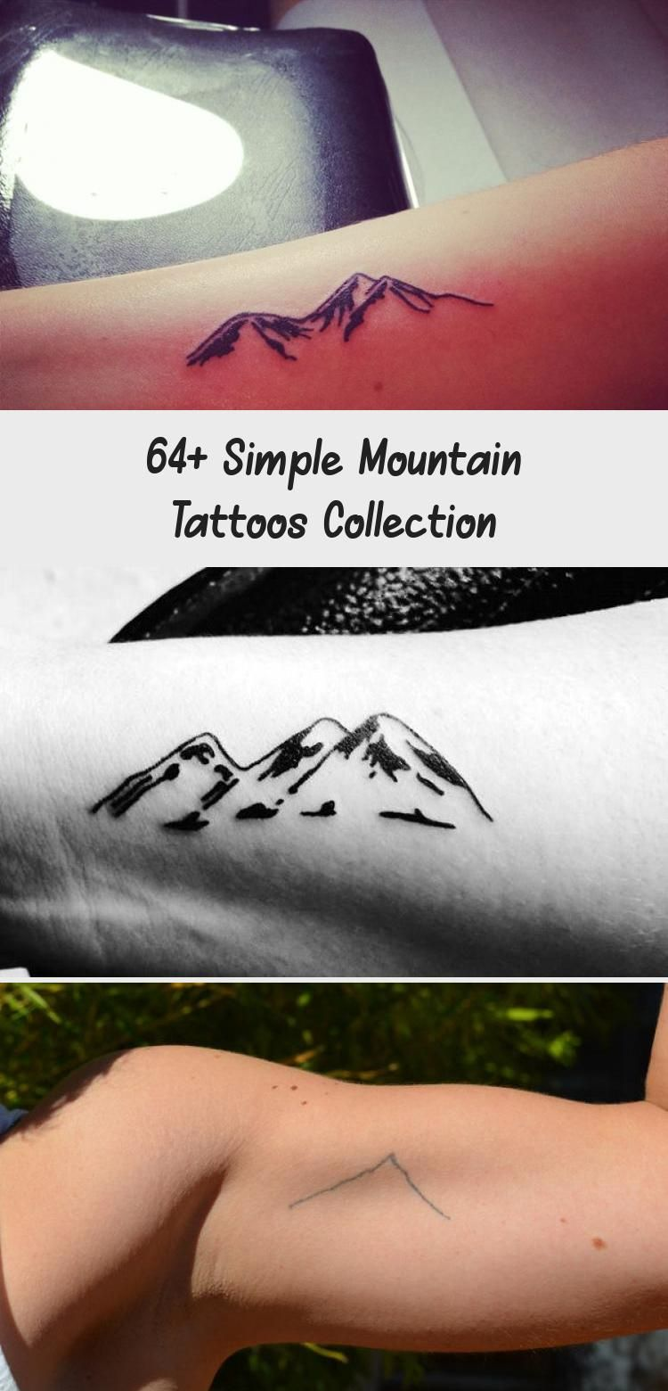 Photo of 64+ Simple Mountain Tattoos Collection – Tattoo Blog