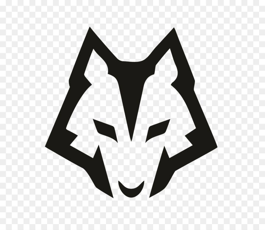 Gray Wolf Logo Photography Wolf Logo Geometric Logo Art Logo Animal Logo